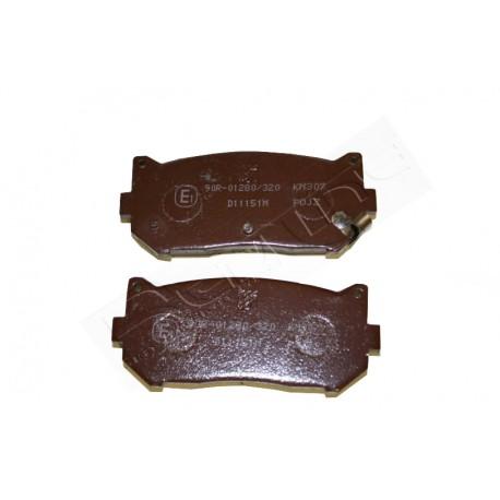 Pločice kočione zadnje Kia Carens 1.6-1.8-2.0 CRDi-Clarus 1.8-2.0 DOHC-Shuma 1.5-27KI041-35241
