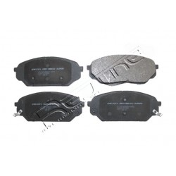 27HY086-Pločice kočione prednje Hyundai iX55-zamenski rezervni deo